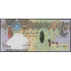 Катар 100 риалов б/д (2007 г.) (Qatar 100 riyals ND (2007 year)) P26:Unc