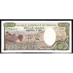 Руанда 1000 франков 1978 г. (RWANDA 1000 francs 1978 g.) P14а:Unc