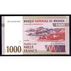 Руанда 1000 франков 1994 г. (RWANDA 1000 francs 1994 g.) P24:Unc