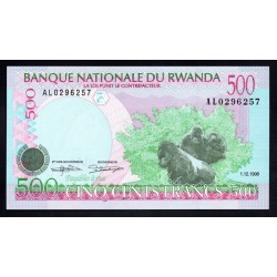 Руанда 500 франков 1998 г. (RWANDA 500 francs 1998 g.) P26:Unc