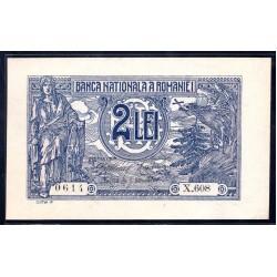 Румыния 2 лей ND (1915) (ROMANIA 2 Lei ND (1915)) P18:Unc