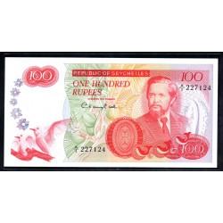 Сейшельские Острова 100 рупий ND (1977 г.) (Seychelles 100 rupees ND (1977 g.)) P22:Unc  RAR!!!