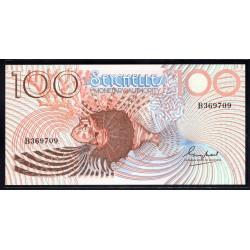 Сейшельские Острова 100 рупий ND (1980 г.) (Seychelles 100 rupees ND (1980 g.)) P27:Unc