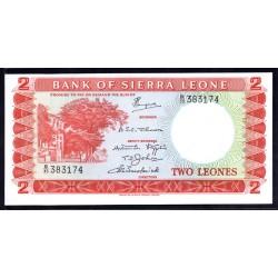 Сьерра - Леоне 2 леоне ND (1970 г.) (SIERRA LEONE 2 leones ND (1970 g.)) P2d:Unc