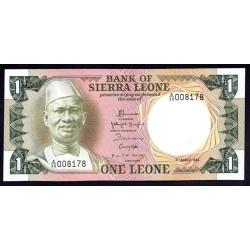 Сьерра - Леоне 1 леоне 1984 г. (SIERRA LEONE 1 leone 1984 g.) P5е:Unc
