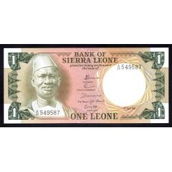 Сьерра - Леоне 1 леоне 1981 г. (SIERRA LEONE 1 leone 1981 g.) P5d:Unc