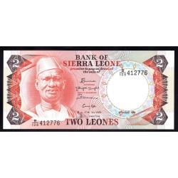 Сьерра - Леоне 2 леоне 1985 г. (SIERRA LEONE 2 leones 1985 g.) P6h:Unc