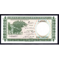 Сьерра - Леоне 1 леоне ND (1970 г.) (SIERRA LEONE 1 leone ND (1970 g.)) P1c:Unc