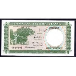 Сьерра - Леоне 1 леоне ND (1964 г.) (SIERRA LEONE 1 leone ND (1964 g.)) P1а:Unc