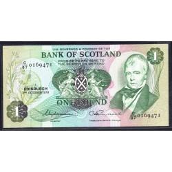 Шотландия 1 фунт 1978 г. (SCOTLAND 1 Pound 1978) P111с:Unc