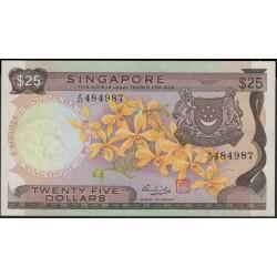 Сингапур 25 долларов б\д (1972) (Singapore 25 dollars ND (1972)) P 4 : Unc