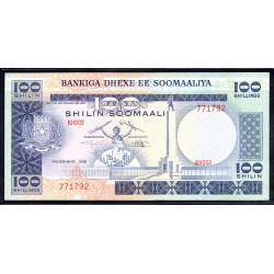 Сомали 100 шиллингов 1981 г. (SOMALIA  100 shillings 1981 g.) P30:Unc