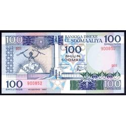 Сомали 100 шиллингов 1983 г. (SOMALIA  100 shillings 1983 g.) P35а:Unc