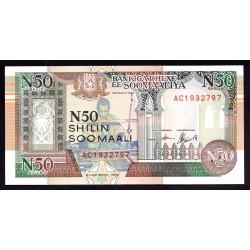 Сомали 50 шиллингов 1991 г. (SOMALIA  50 shillings 1991 g.) PR2:Unc