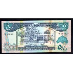 Сомалиленд 500 шиллингов 2006 г. (SOMALILAND 500 shillings 2006 g.) P6f:Unc