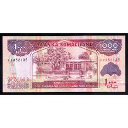 Сомалиленд 1000 шиллингов 2015 г. (SOMALILAND 1000 shillings 2015 g.) P20d:Unc