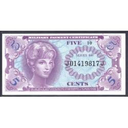 США 5 центов ND (1965 г.) серия 641 (UNITED STATES OF AMERICA 5 Cents ND (1965) MILITARY) PM57:Unc