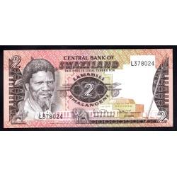Свазиленд 2 эмалангени ND (1983 - 84 г.) (SWAZILAND 2 emalangeni ND (1983 - 84g.) P8b:Unc