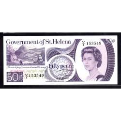 Святая Елена 50 пенсов ND (1979 г.) (Saint Helena 50 pence ND (1979 g.)) P5:Unc