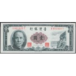 Тайвань 1 юань 1961 год (Taiwan 1 yuan 1961 year) P 1971b:Unc