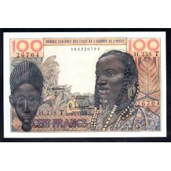 Того 100 франков ND (1959 - 61 г.) (TOGO 100 francs ND (1959 - 61 g.)) P801е:Unc