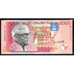 Маврикий 2000 рупий 1999 г.   (MAURITIUS 2000 rupees 1999 g.) P55:Unc