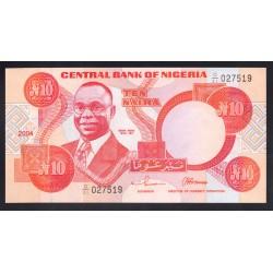 Нигерия 10 найра 2004 г. (NIGERIA 10 naira 2004 g.) P25g:Unc