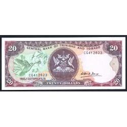 Тринидад и Тобаго 20 долларов 1979 г. (TRINIDAD & TOBAGO 20 Dollars 1979) P39d:Unc