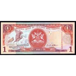 Тринидад и Тобаго 1 доллар 2002 г. (TRINIDAD & TOBAGO 1 Dollar 2002) P41:Unc