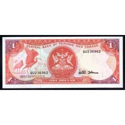 Тринидад и Тобаго 1 доллар 1979 г. (TRINIDAD & TOBAGO 1 Dollar 1979) P36с:Unc
