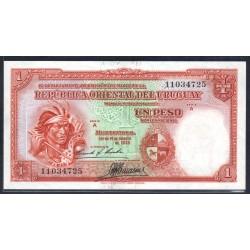 Уругвай 1 песо 1935 г. (URUGUAY 1 Peso 1935) P28b:Unc-
