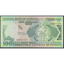 Вануату 100 вату 1982 год (Vanuatu 100 Vatu 1982) P 1: UNC