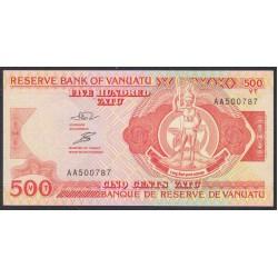 Вануату 500 вату 1993 год (Vanuatu 500 Vatu 1993) P 5a: UNC