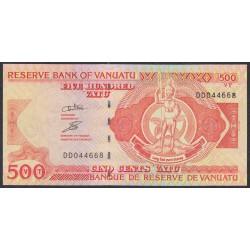 Вануату 500 вату 1993 год (Vanuatu 500 Vatu 1993) P 5c: UNC