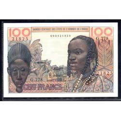 Западная Африка 100 франков ND (BANQUE CENTRALE DES ETATS DE L'AFRIQUE DE L'OUEST 100 francs ND) P26:Unc